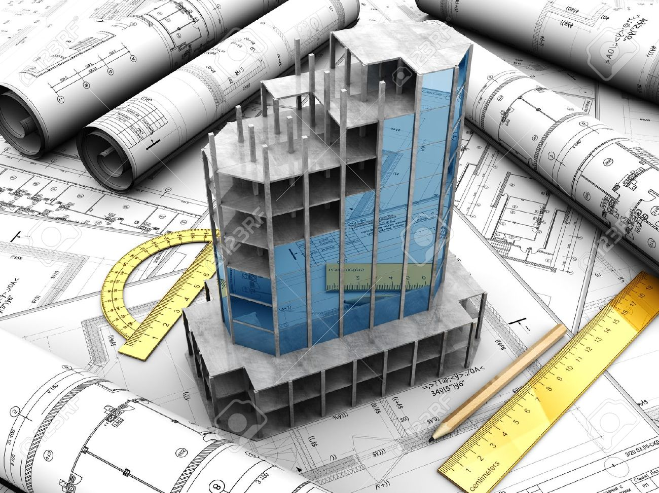 14674534-Modern-design-project-with-pencil-and-rules-on-it-Stock-Photo-construction-building-engineering.jpg